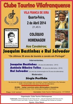 Homenagem a Joaquim Bastinhas e Rui Salvador