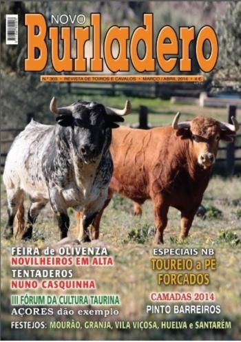 Já se encontra à venda o N.º 303 da revista Novo Burladero