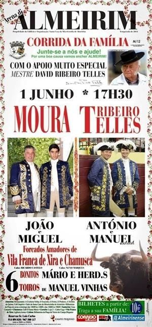 João Moura Jr em Almeirim