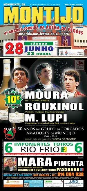 Gilberto Filipe por Moura no Sábado no Montijo