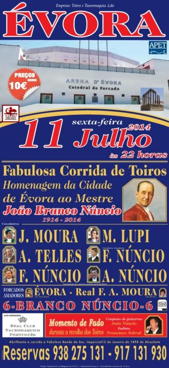 Corrida em Évora - 11 de Julho