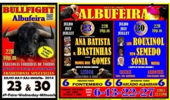 Os próximos carteis para Albufeira