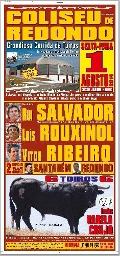 Hoje há Toiros na Vila de Redondo