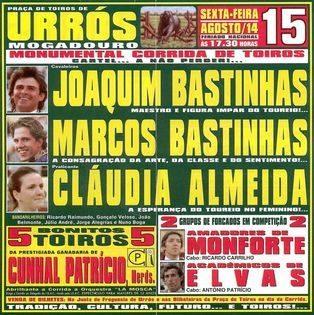 Cartaz de dia 15 de Agosto em Urrós