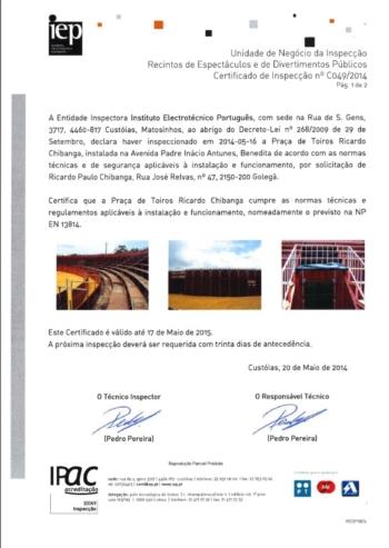 Comunicado-Tourada confirmada domingo em Viana