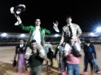 David Gomes em Espanha - 3 Festejos - 6 Orelhas - 2 Portas Grande