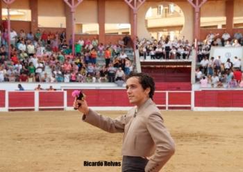 João Martins corta orelha em San Martin de Valedeiglesias (Madrid)