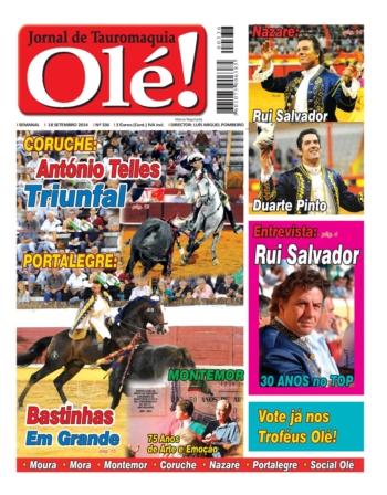 A capa do Jornal Olé desta semana