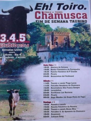 Chamusca dá destaque à tradição taurina até domingo