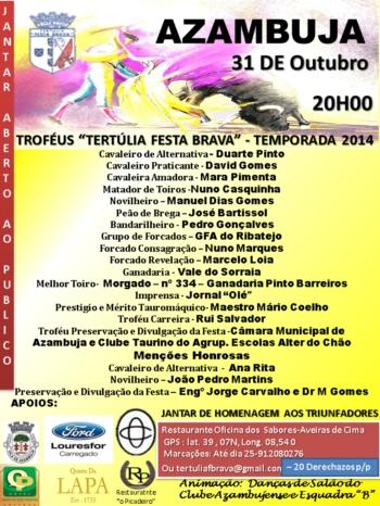 Lista dos Troféus Festa Brava