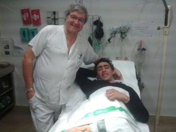 Sérgio Nunes sofre cornada em tenta na ganadaria António Silva