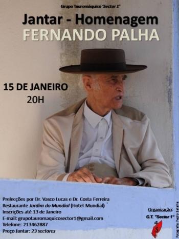 Homenagem do 'Sector 1' a Fernando Palha com nova data
