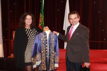 Joaquim Bastinhas doa casaca ao Museu do Campo Pequeno