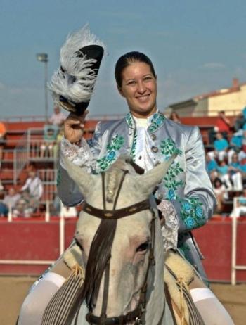 Ana Rita hoje em Espanha