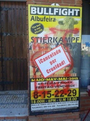 Radicalismo Anti-Taurino em Albufeira