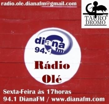Rádio Olé da Dianafm hoje com Rui Gato