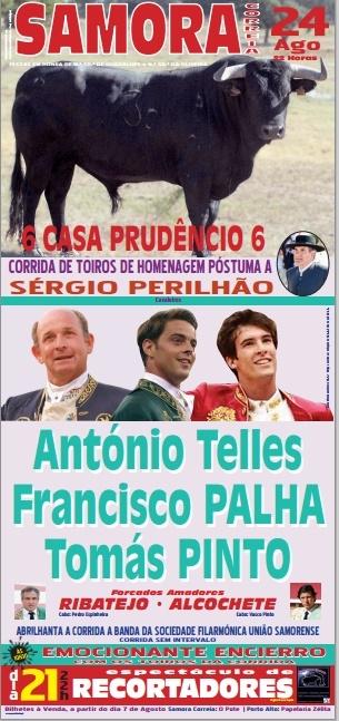 Corrida de toiros em Samora Correia a 24 de Agosto