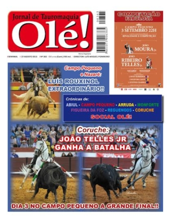 Jornal Olé 365, já amanhã nas bancas