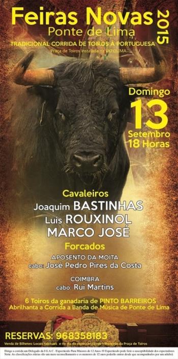 Marcos Bastinhas substitui o seu pai em Ponte de Lima