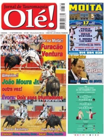 Jornal de Tauromaquia Olé! nº368 já nas bancas
