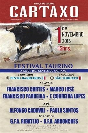 Cartaxo acolhe hoje último festival taurino do ano