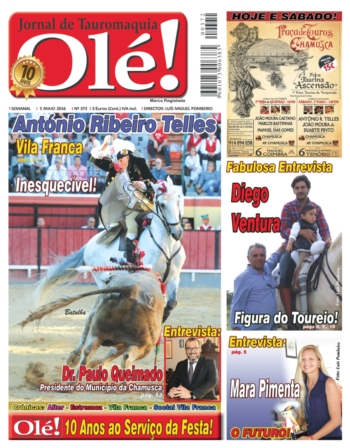 Jornal Olé nº 372 - Amanhã nas bancas