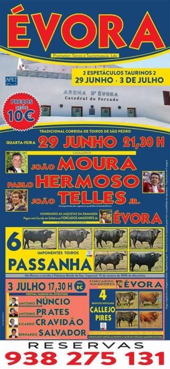 Duas figuras de vulto, dois espetáculos em Évora a 29 de junho e 3 de julho