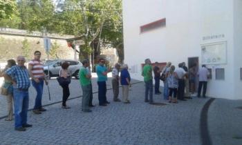 Corrida aos bilhetes em Évora