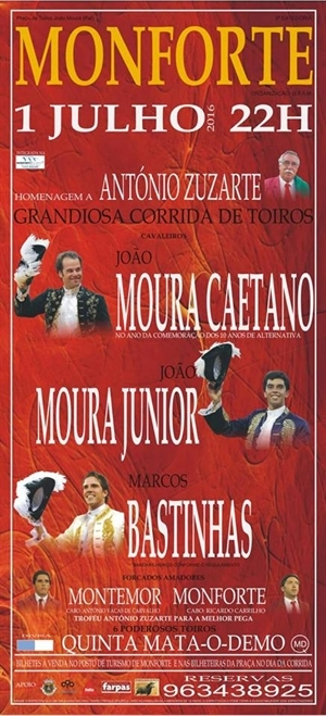 António Zuzarte homenageado amanhã em MONFORTE
