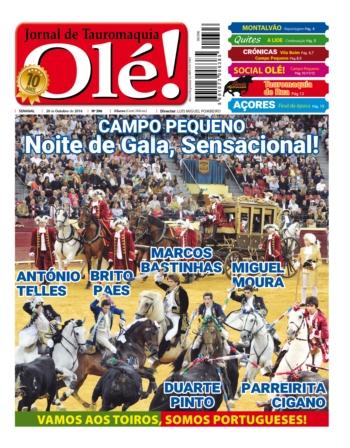 Jornal Olé 396, hoje nas bancas