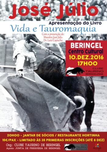 Maestro José Júlio apresenta o seu livro em Beringel