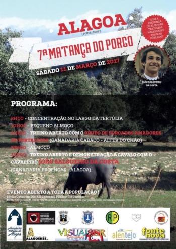 Tertúlia Alagoa promove a 7ª Matança do Porco