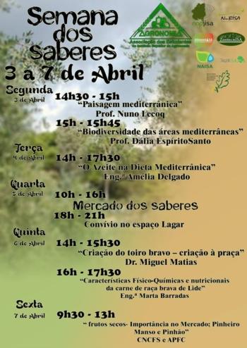 Palestras sobre Touro Bravo - Semana dos Saberes do Instituto Superior de Agronomia