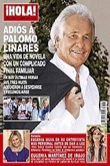 Revista !Hola! dedica reportagem ao diestro Palomo Linares