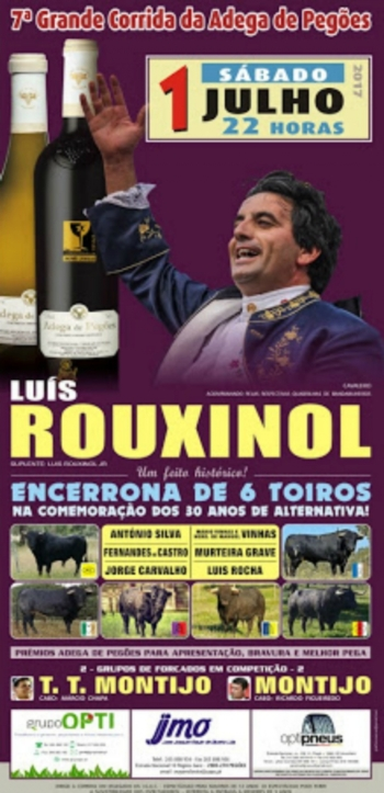 Opinião de Luís Rouxinol sobre os toiros da sua Encerrona