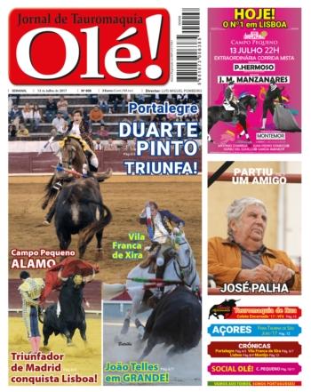 Jornal Olé! 408, já nas bancas